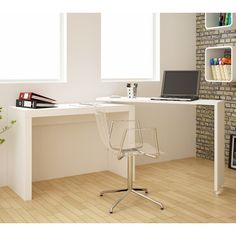 Found it at Wayfair - Erica Nested Desk in Tobacco
