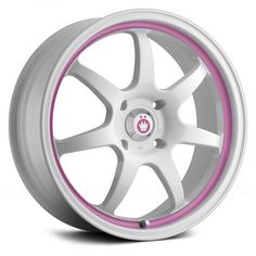 KONIG® - FORWARD White with Pink Stripe