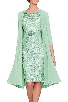 Are you searching for a cute mother of the bride dress? You should take a look at this Chiffon Lace Mother of The Bride Dress Short Party Dress with Jacket. Split Prom Dresses, Short Dresses, Formal Dresses, Evening Party Gowns, Evening Dresses, Mothers Dresses, Bride Dresses, Pageant Dresses, Beach Dresses
