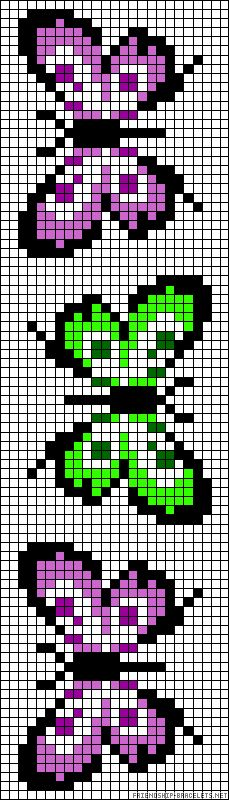 ideas for knitting charts butterfly cross stitch Bead Loom Patterns, Beading Patterns, Embroidery Patterns, Cross Stitch Designs, Cross Stitch Patterns, Cross Stitching, Cross Stitch Embroidery, Bordado Tipo Chicken Scratch, Pixel Crochet