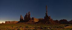 "Monument Valley at night....can you say ""Close Encounter"" ???? Amazing!"