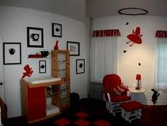 Cute Alice In Wonderland Nursery Theme Ideas Love The Silhouette Of Falling Through Rabbit Hole On Ceiling And Checkerboard Chess