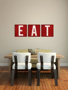 MADE to ORDER   Custom  KITCHEN Decor Canvas Wall by nativevermont, $165.00