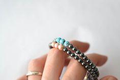 Noir Magnétique Hématite Bracelet Bangle Perles Soulagement Douleur Thérapie Rhumatoïde
