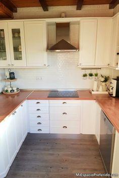 Kitchen Cabinets, Home Decor, Timber Furniture, Pine Kitchen, Wooden Ladders, Restaining Kitchen Cabinets, Homemade Home Decor, Kitchen Base Cabinets, Interior Design