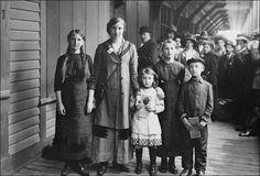 Immigrants juifs russes, Québec, QC, 1911
