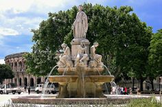 https://flic.kr/p/qCVqCC | FRANCE - Provence, Nîmes, Fontaine de Charles Pradier, 12496/4877 | FRANCE - Provence, Nîmes Fontaine de Charles Pradier, esplanade C de Gaulle  Esplanade C.DeGaulle, fountain