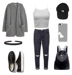 """Untitled #1163"" by wali-emna ❤ liked on Polyvore featuring Boohoo, Chicnova Fashion, Casetify and Humble Chic"