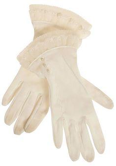 Vintage After Dinner Dessert Gloves, #ModCloth