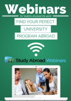 Webinars help international students interact with universities, ask personalised questions, and receive exclusive information about scholarships, student experiences and post graduate programmes