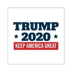 2 PK TRUMP 2020 STICKER PRO LIFE ANTI DEMOCRAT PRO GUN MAGA DEPLORABLE DECAL