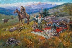 Call of the Law by Charles Marion Russell