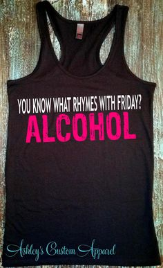 Alcohol Shirts, Adult Humor,Funny Drinking Shirt, Happy People, Drinking Shirt, The Weekend, Funny Gifts For Her, Shirts with Sayings, Love  by AshleysCustomApparel