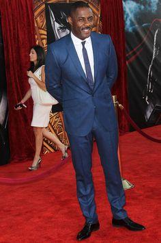 Idris Elba in a Ozwald Boateng suit