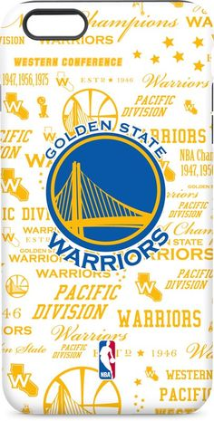 Golden State Warriors Historic Blast iPhone 6 inkFusion Pro Case. Available as a…