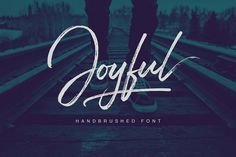 Joyful Script by Get Studio on @creativemarket