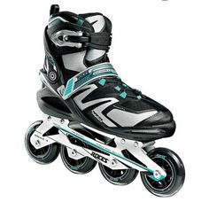 Roces Women's Skin Inline Fitness Skates, Color Aqua Italian Design 400749 00002