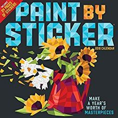 Another in the Adult activity book genre - Sticker Books for Adults - Color by Sticker - Paint by Sticker - Coloring Stickers keep busy and happy offline.