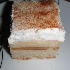 Egy finom Almás-habos sütemény ebédre vagy vacsorára? Almás-habos sütemény Receptek a Mindmegette.hu Recept gyűjteményében! Vanilla Cake, Food, Essen, Meals, Yemek, Eten