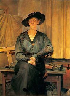 """""""Portret żony artysty"""" 1920 Jacek Malczewski"""