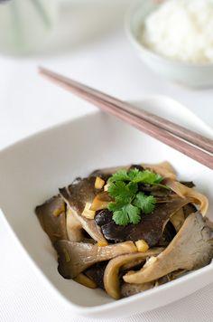 Easy Oyster Mushroom Stir-Fry - Omnivore's Cookbook