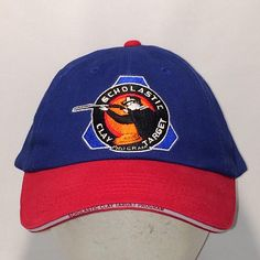 Vintage Strapback Dad Hat Baseball Cap Hats For Men Blue Red Ball Cap  Shooting Sports Hats Scholastic Clay Target Program Hat T114 MA8184 c718eb90f658