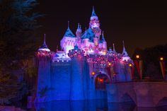 Sleeping Beauty Castle Christmas Time - Michael Wada