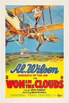 1928 - WON IN THE CLOUDS - Bruce Mitchell