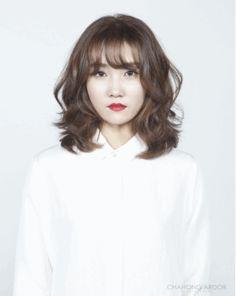 Loose Perm #medium #hair #beauty #cut #chahongardor