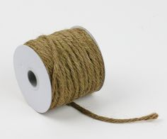 Burlap and Silk - 3.5 mm x 25 yd Jute Rope Twine Sable Brown, $5.99 (http://www.burlapandsilk.com/3-5-mm-x-25-yd-jute-rope-twine-sable-brown/)