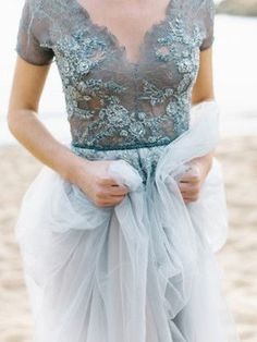Stunning Shades of Blue Wedding Inspiration | B&E Lucky in Love Blog