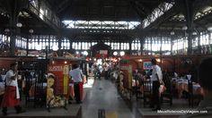 Mercado Central de Santiago - vão central
