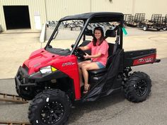 Thanks to Sunny Hillman from Leakesville MS for getting a 2015 Polaris Ranger 570 at Hattiesburg Cycles