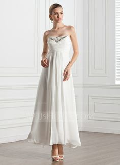 Evening Dresses - $132.99 - Empire Sweetheart Ankle-Length Chiffon Evening Dress With Ruffle Beading (017005274) http://jjshouse.com/Empire-Sweetheart-Ankle-Length-Chiffon-Evening-Dress-With-Ruffle-Beading-017005274-g5274?pos=your_recent_history_3
