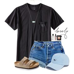 ~l o v e l y~ by victoriaann34 on Polyvore featuring Birkenstock, Kendra Scott, Patagonia, Vineyard Vines and Bobbi Brown Cosmetics