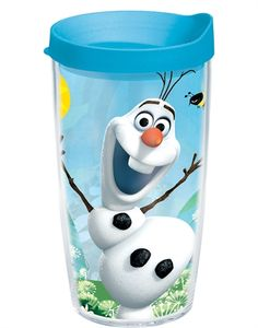 Everyone's favorite snowman got a new Tervis design - Olaf and Tervis keep your drinks extra cool!