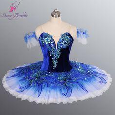 Hot selling classical tutu, Adult Professional Ballet Tutus with Velvet bodice ballerina dance costume blue ballet tutus BL-083