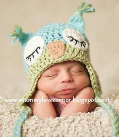 MUMMY LOVE CORNER: Animal Crochet Beanies Collection