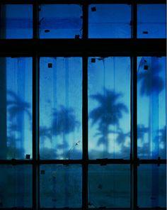 Blue Window by Michael Eastman