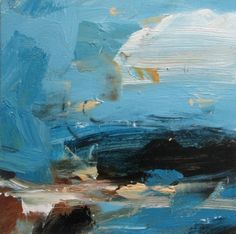 Louise Balaam - Turquoise Sea, Rocky Coast (Zennor)