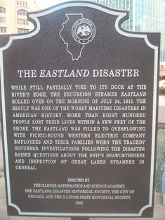 The EastLand Disaster Chicago Ii, Chicago River, Chicago Illinois, Us History, Family History, American History, Great Lakes Ships, Port Huron