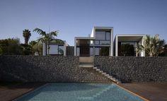 Maison moderne ZigZag à double terrasse et piscine, , #Alonso-Sosa architects #espagne #modern