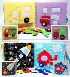 Children's Quiet Book Busy Book Eco friendly Toddler por MiniMoms …
