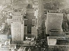 Downtown Newark's skyline hasn't changed much from the 1960s. While new buildings are now being constructed and will reshape the classic skyline, these brick and mortar beauties have been here for decades, calling Newark their first and only home.