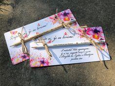Zapíšte si, že sa berieme - s motýľmi / limeart - SAShE. Perfect Wedding, Program, Wedding Invitations, Gift Wrapping, Gifts, Inspiration, Beautiful, Gift Wrapping Paper, Biblical Inspiration