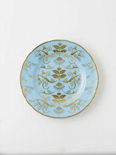 """Royal Crown Derby Harlequin Duck Egg Salad Plate 8""""D $175"""