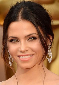 Jenna Dewan's Hair & Makeup Look at 2014 Oscar Awards