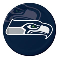 Seattle Seahawks Paper Luncheon Plates  Licensed by the NFL #Tailgating #Seahawks #Seattle #SeattleSeahawks