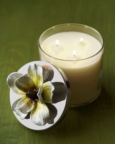 """""""Magnolia"""" Candle by Michael Aram at Neiman Marcus."""
