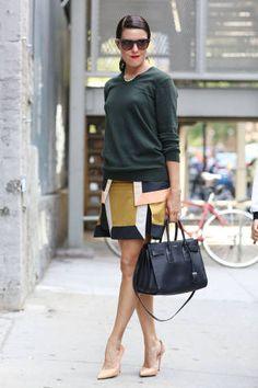 Woman's fashion /Street Chic NYFW SS14 - New York Fashion Week Street Style - ELLE